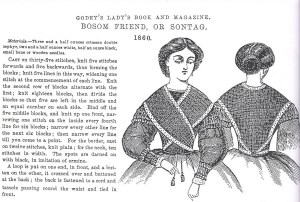Originally from Godey's; image from http://katedaviesdesigns.com/2013/06/28/sontag/